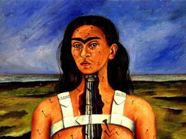 La columa rota por Frida Kahlo