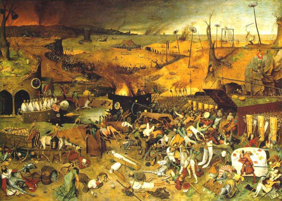 El triunfo de la Muerte por Pieter Brueghel el Viejo