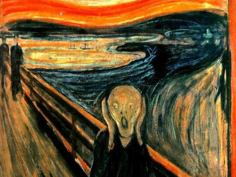 El grito por Edvard Munch