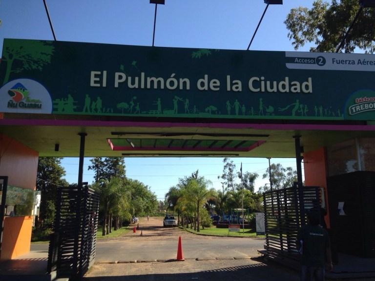 Entrada al Parque Guasú Metropolitano