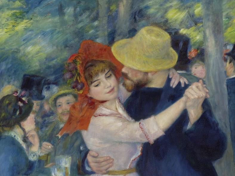 Baile en Buogival por Auguste Renoir