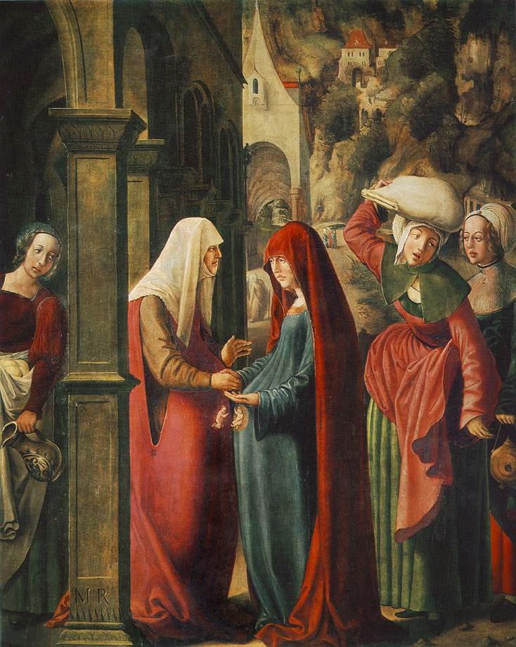 La Visitación de Santa María por Marx Reichlich