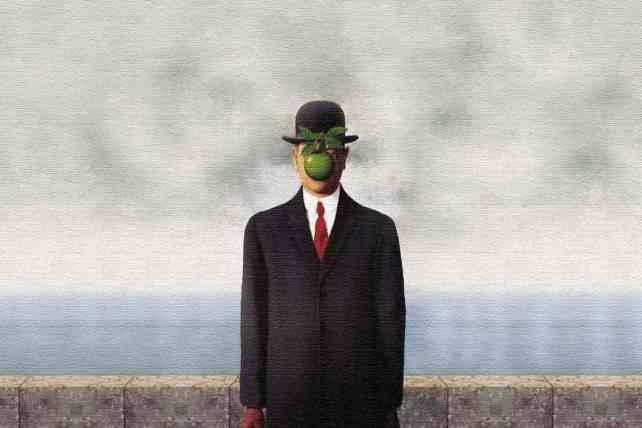 El hijo del hombre por René Magritte