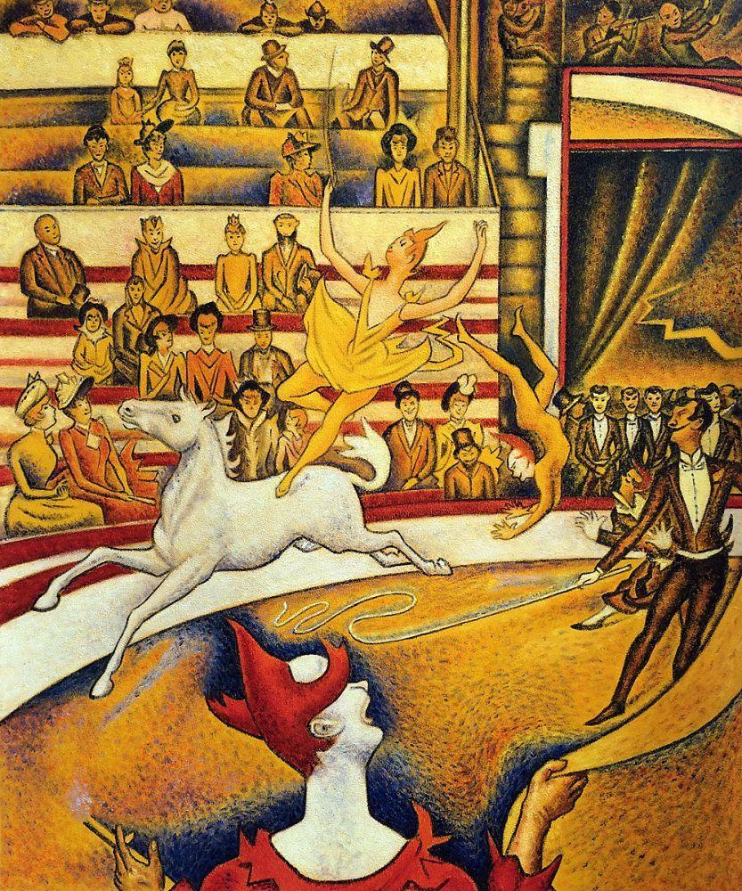 El Circo por Georges Seurat