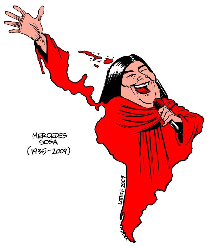 Calló la voz de América Latina