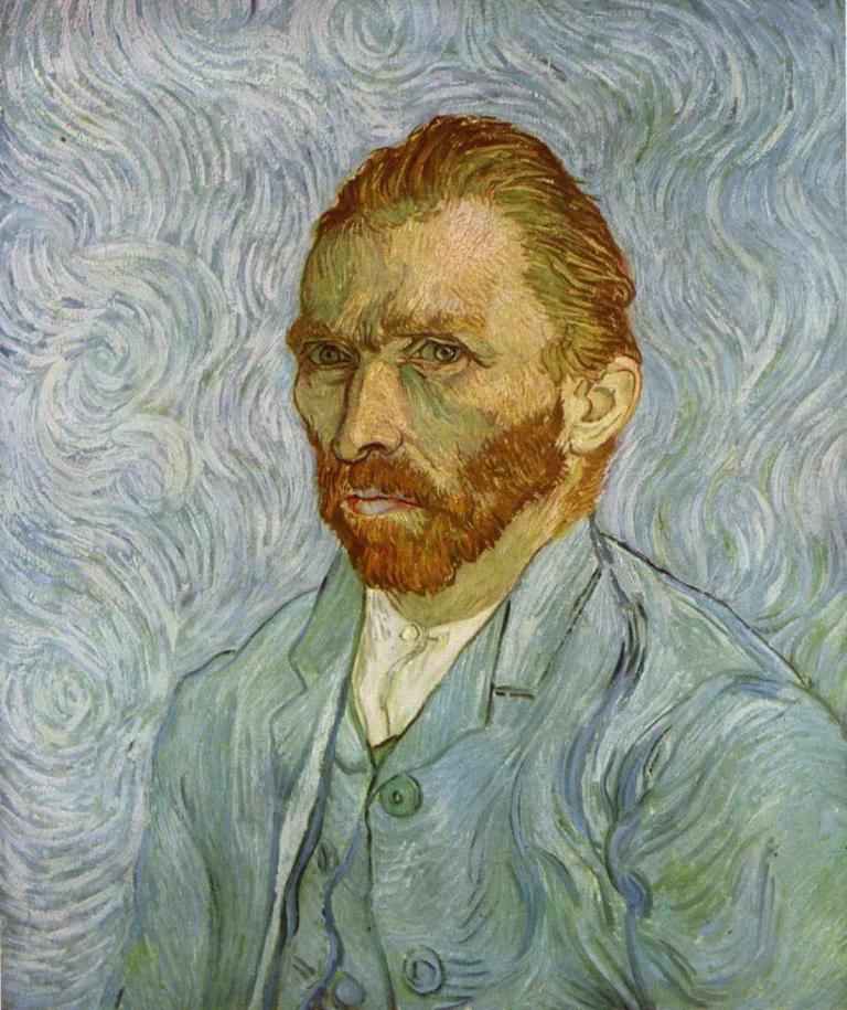 Autorretrato por Vincent van Gogh